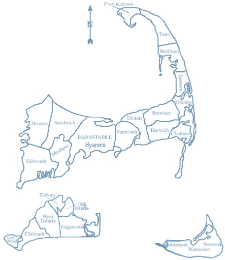 Cape Cod Zip Code Map | Zip Code MAP